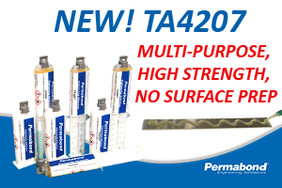 New TA4207 Multi-Purpose, High Strength Adhesive - No Surface Prep Required!