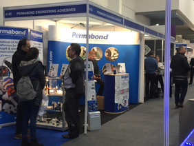 Permabond is back at Southern Manufacturing & Electronics - find us by the entrance!