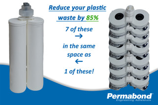 Permabond ET5364 high performance, structural epoxy now available in reduced waste packaging!