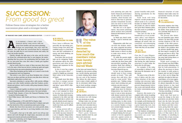 Succession: From good to great