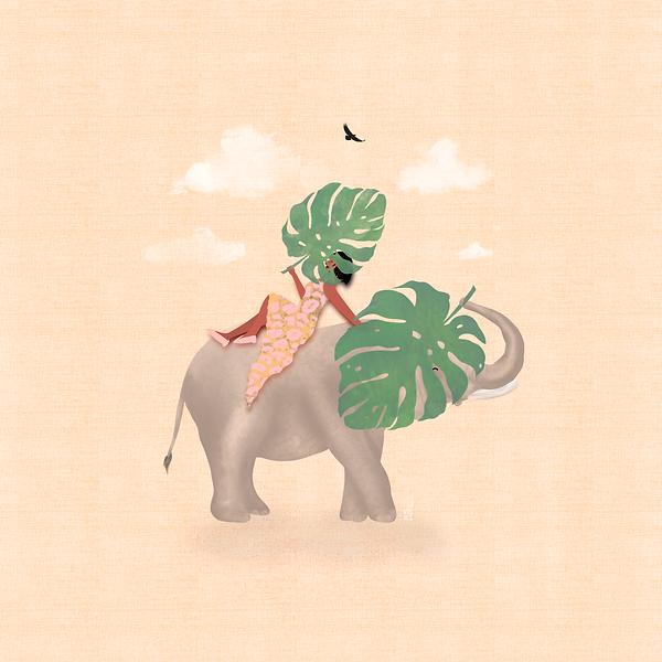 ello leaf girl spot illustration .png