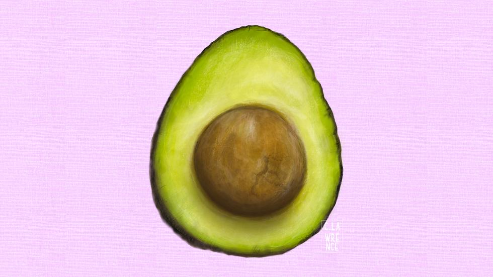 Avocado Sliced