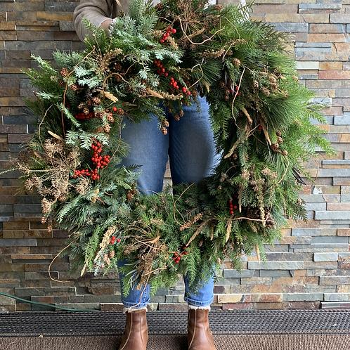 Winter Deluxe Wreaths