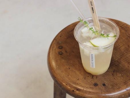 9月限定 《和梨と洋梨のソーダ》