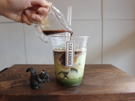 5月限定 《 緑茶ゼリーラテ 》