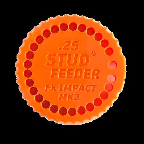 Fits: FX Impact .25 Feeder for Stud Mag Loader, Orange