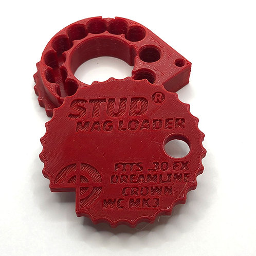.30 Stud Mag Loader, Red To Fit: FX MEGA (New Version)