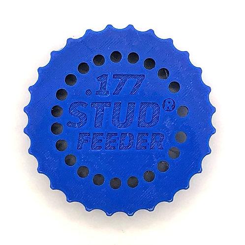 .177 Feeder for Stud Mag Loader, Blue To Fit: Maverick/Dreamline/Crown/WCMK3