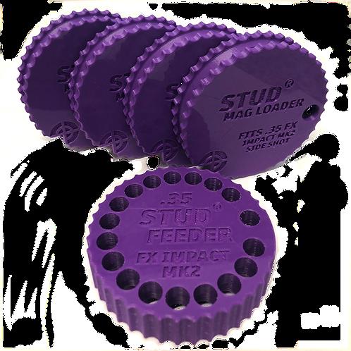 FX Impact MK2,3 - .35 Bundle - Stud Mag Loaders and Feeder, Purple