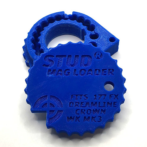 .177 Stud Mag Loader, Blue To Fit: Maverick/Dreamline/Crown/WCMK3