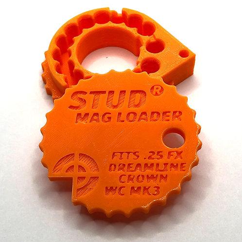 .25 Stud Mag Loader, Orange To Fit: Maverick/Dreamline/Crown/WCMK3