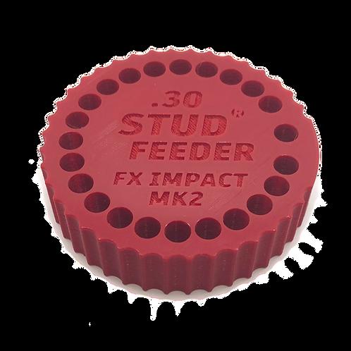 FX Impact MK 2,3 .30 Feeder for Stud Mag Loader, Red