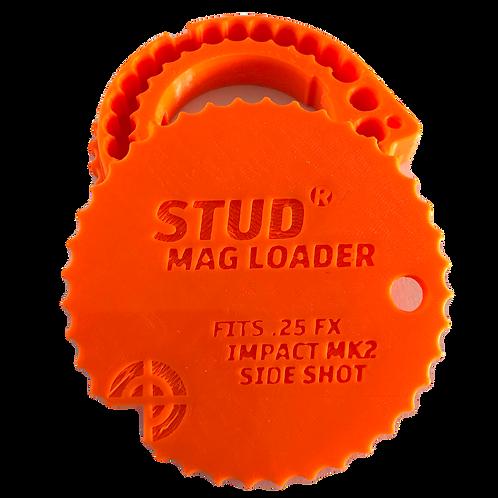 Fits: FX Impact MK2 - .25 Stud Mag Loader, Orange