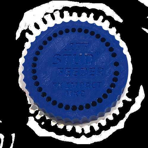 Fits: FX Impact MK2 - .177 Feeder for Stud Mag Loader, Blue