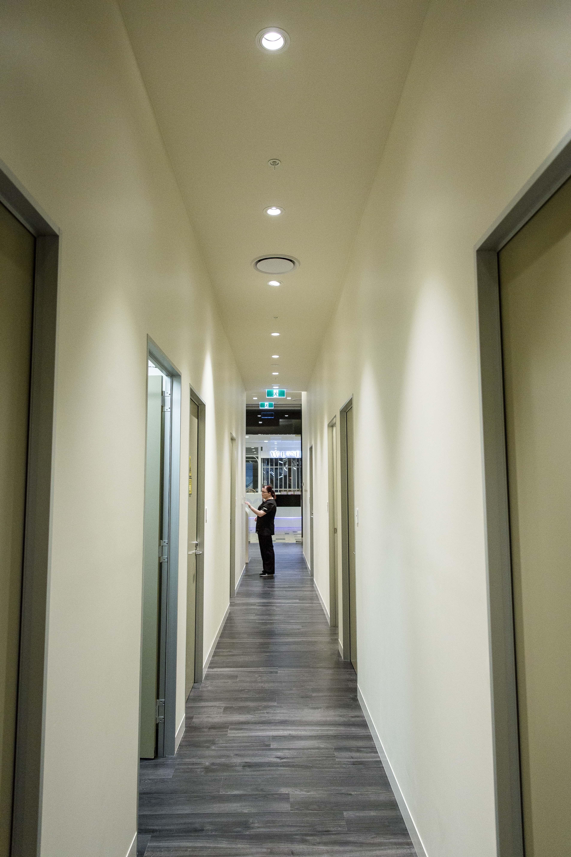 Hallway Fitout