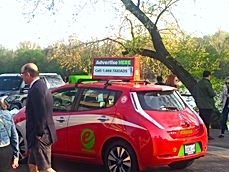 Digital Taxi Top Advertising