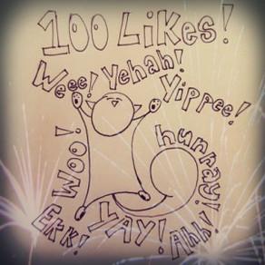 100 Likes on Facebook!