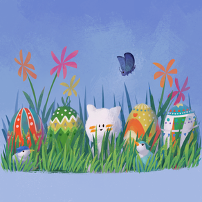 Happy Easter from Cat and Moth!