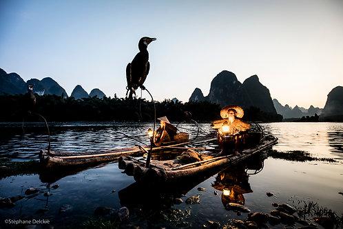 Pêcheurs aux cormorans II