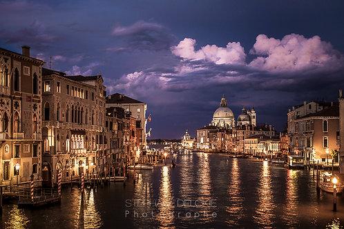 Grand Canal au crépuscule