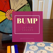 Teaching Letter Sounds with Bump Game
