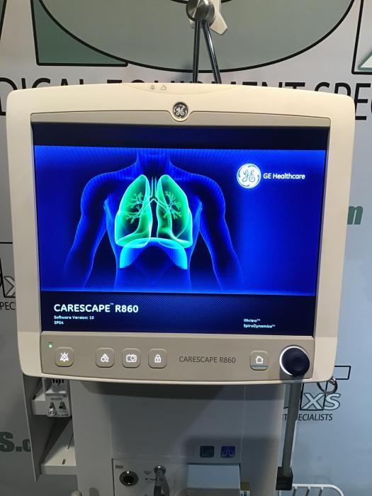 Equipamento médico, ventilador pulmonar