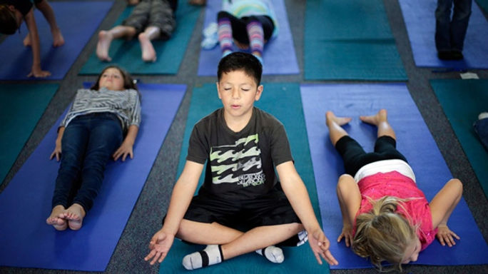 Study - Here and now Yoga in Israeli Sch