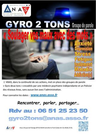"""L'Anas met en place le """"Gyro deux Tons"""""""
