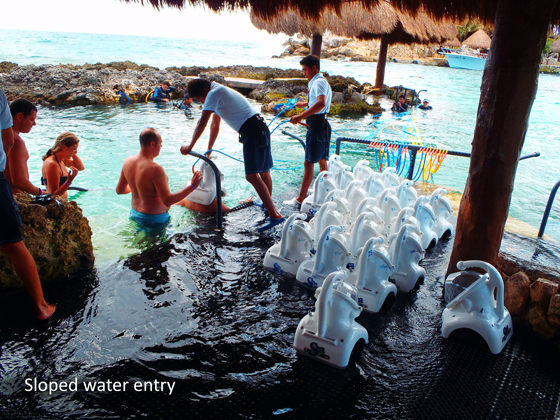 sloped-water-entry-xcaret