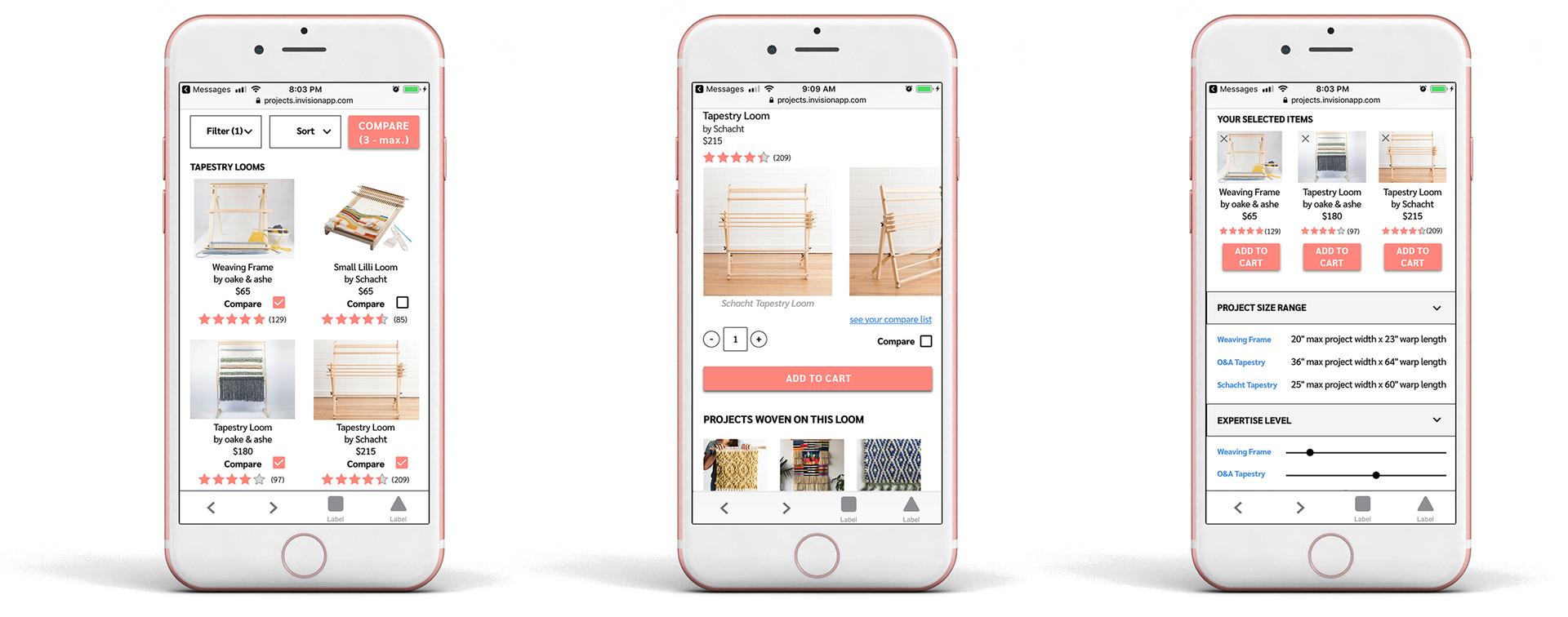Weaving Retail Site