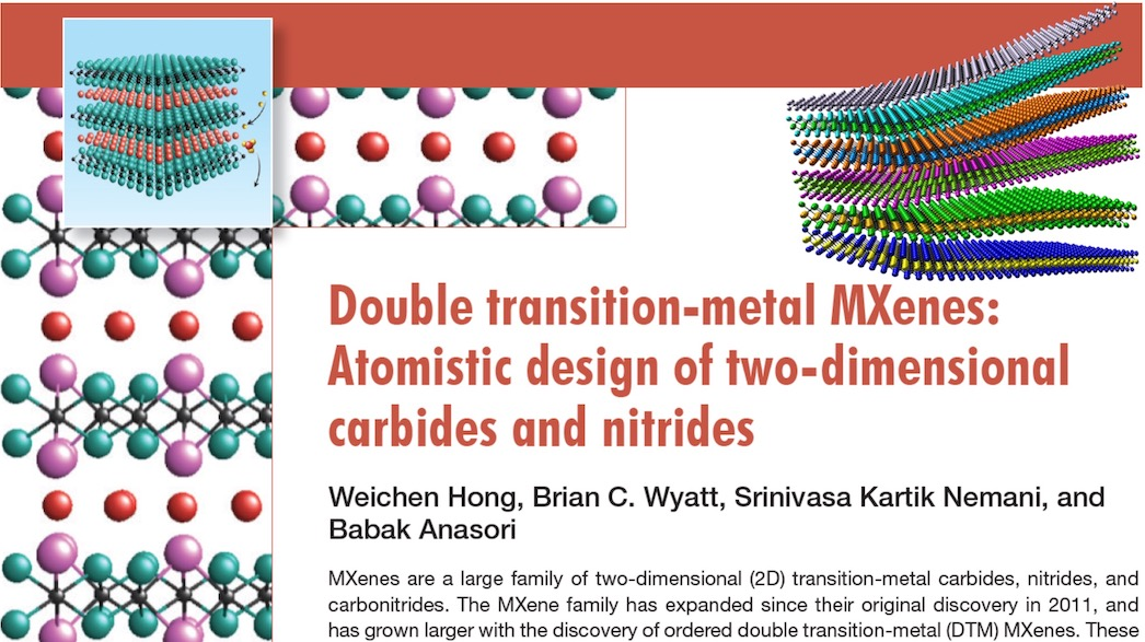 Double Transition Metal MXenes