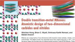 Double Transition Metal MXenes