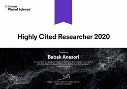Highly Cited Researcher 2020