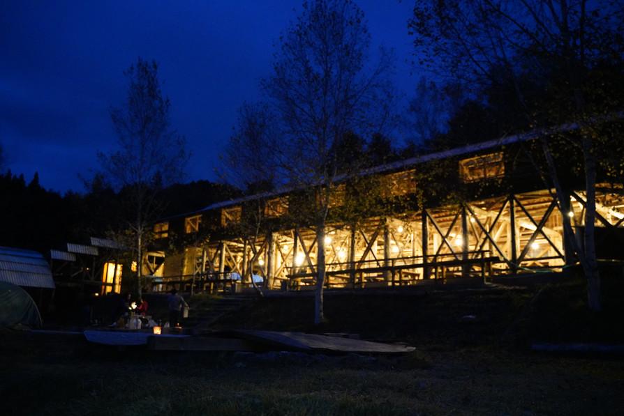 キャンプ場施設