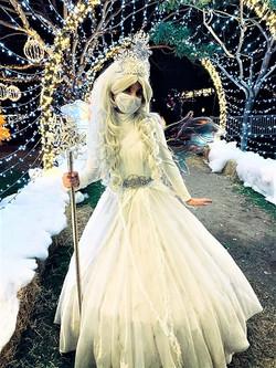 Emmy as Winter Fairy