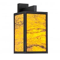 7530D4-Soho-wandlamp-zwart-Zandsteen-605
