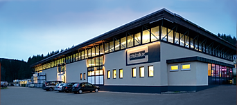 Cristallux factory in Waldachtal, Germany