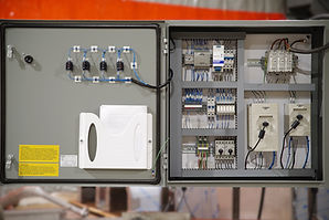 E3 Integrated Engineering - Industrial control panel builder - Cloth washer control panel