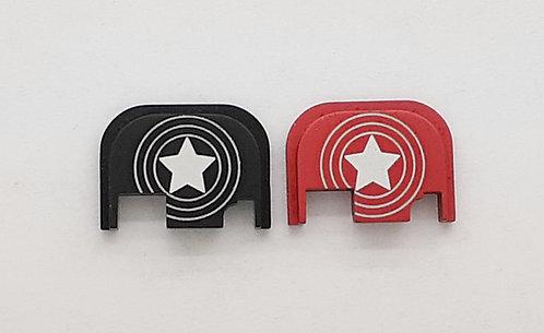Glock Gen 1 - 4 slide plate - Captain America