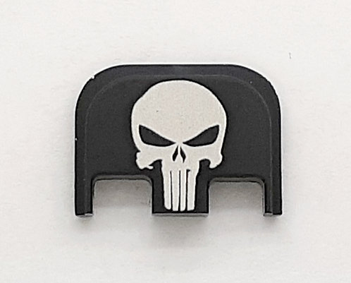 Glock Gen 1 - 5 slide plate - Punisher