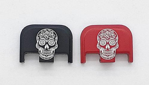 Glock Gen 1 - 5 slide plate - Sugar Skull