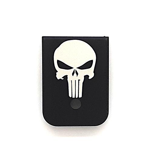 Magazine plate for Glock Gen 1 - 4 - Punisher Skull