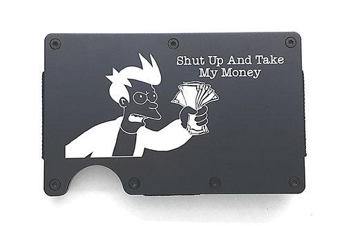 "Minimalist RFID Wallet - Futurama ""Take My Money"""