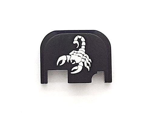 Glock Gen 1 - 4 slide plate - Scorpion