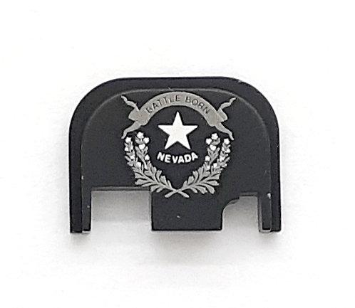 Glock Gen 1 - 4 slide plate - Nevada state flag