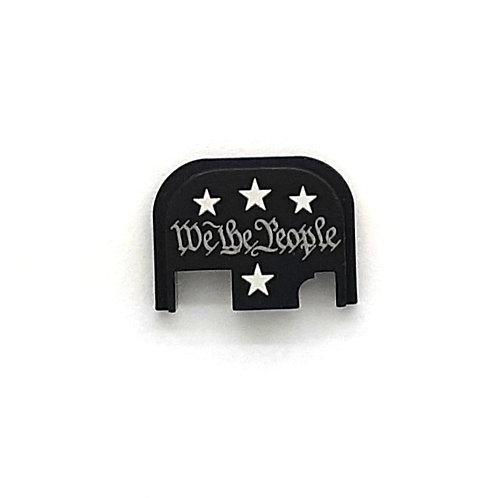Glock Gen 1 - 4 slide plate - We The People