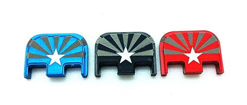 Glock Gen 1 - 5 slide plates - AZ Flag