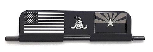 AR15 Port Door - Aluminum - closed side