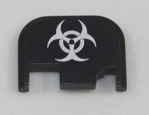 Glock Gen 1 - 4 slide plate - Biohazard symbol