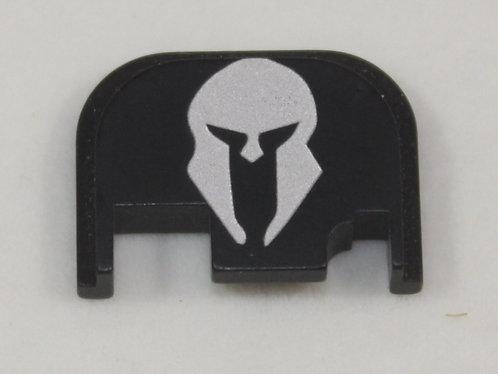 Glock Gen 1 - 4 slide plate - Spartan helmet